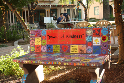 kindness bench